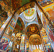 ST. PETERSBURG, RUSSIA FEDERATION - JUNE 29:Interior Of Church Savior On Spilled Blood . Picture Takes In Saint-Petersburg, Inside Church Savior On Spilled Blood On June 29, 2012 stock photography