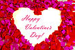 St. Valentine's Day Greeting Background stock photography