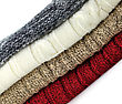 Stack Of Sweaters, Close Up stock photo