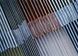 Stacks Of Metal Sheets stock image