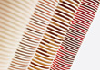 Stacks Of Picnic Paper Cups stock photography