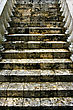 Stairs Step And Column Marble Gran Bahama Bahamas stock image