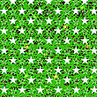 Starry Grunge Green Background For Independence Day Of America