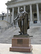 Statue at Capitol Building Columbia South Carolina stock photo