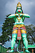 Statue Of A Giant Lord Hanuman Near Batu Caves In Malaysia. Hanuman Is A Deity In Hinduism. stock photo