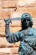 Statue Of Judith And Holofernes Near Palazzo Vecchio. Florence. Italy