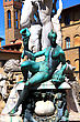 Statue Of Neptune In Florence. Italy. Mediterranean Europe. stock photography