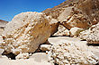 Stones Of Makhtesh Ramon, Unique Crater In Israel stock image