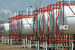 Storage Tanks For Liquid Petroleum Gas (LPG stock photo
