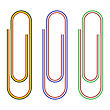 Striped Paperclips
