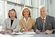 Successful Business Team stock image