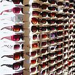 Optician Sunglasses In The Stands stock photo