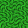 Sweet Green Candy Background. Sweet Green Wave Candy Pattern