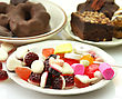 Brownie Sweets Assortment stock photo