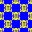 Symbol Of Ukraine Background. Seamless Ukrainian Pattern