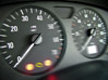 Tachometer & Speedometer stock photo
