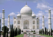 Landmark Taj Mahal, India stock photography