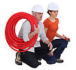 Team Of Tradespeople stock photo
