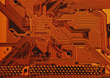 Scientific Technology - Circuit Board stock photography