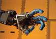 Technology - Industrial Robot stock photo