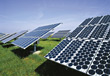 Technology - Solar Panels stock image