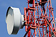 Communications Technology Telecommunications stock photo