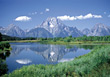Teton National Park, Wyoming, USA stock image