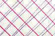 Texture Of The Cotton Fabric With Pink And Purple Stripes stock photo