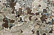 Mottled Texture Of Natural Brown-spotted Pink Granite Stone stock image
