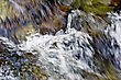 Texture Of The Raging Stream Of Water In The Waterfall stock image