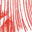 Texture White Wall With Bloody Red Stains. Vector Illustration