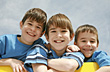 Three Brothers stock image