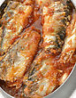 Tinned Sardines In Tomato Sauce ,Close Up