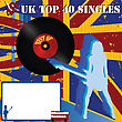 Top 40 Singles UK Poster With Room For Your Text