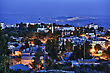 Jewish Town Of Safed In Northern Israel In The Late Evening. stock image
