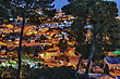 Town Of Safed In Northern Israel In The Late Evening stock photography