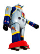 Toy Robot Walking stock photography