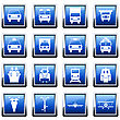 Transportation Set Of Different Vector Web Icons stock vector