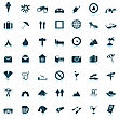 Travel Set Of Different Vector Web Icons stock illustration