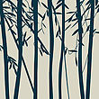 Trees Silhouettes stock illustration