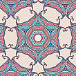 Tribal Art Ethnic Seamless Pattern. Boho Print. Ethno Ornament. Cloth Design, Wallpaper, Wrapping