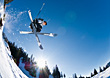 Trick Skiing stock photography