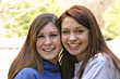 Teenagers Two Teenagers stock photo