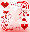 Valentines Day Design stock illustration