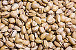 Varieties Of Nuts: Peanuts, Hazelnuts, Chestnuts, Walnuts, Pistachio And Pecans. Food And Cuisine stock photo