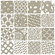 Variety Styles Seamless Patterns Set. All Patterns Available In Swatch Palette. Vector, EPS 8