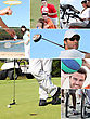 Golf Various Sports stock photo