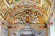 Baroque Vatican Museums - Gallerys Of Vatican. Italy, Rome stock photo