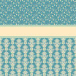 Card, Fully Editable Eps 8 File,seamless Patterns In Swatch Menu