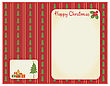 Christmas Cards For Winter Holidays For Text.Vintage Backgrounds stock vector